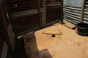 The Water Project: Royema, New Kambees -  Inside Latrine