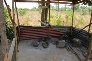 The Water Project: Royema Community A -  Kitchen