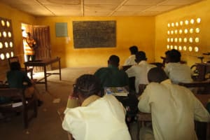 The Water Project: Kulafai Rashideen Primary School -  Students In Class