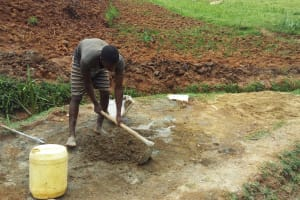 The Water Project: Shitaho Community B, Isaac Spring -  Community Member Levels Foundation