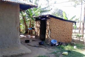 The Water Project: Shikhambi Community, Daniel Inganga Spring -  No Dish Rack