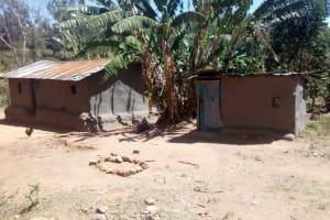The Water Project: Handidi Community, Matunda Spring -  Homestead