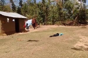The Water Project: Mungulu Community, Zikhungu Spring -  Household