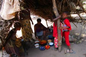 The Water Project: Kasongha Community, 16 Komrabai Road -  Outdoor Kitchen