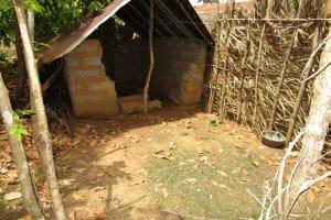 The Water Project: Baya Community -  Latrine