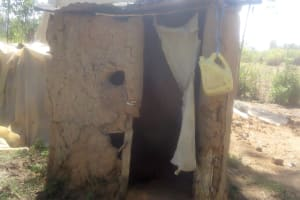 The Water Project: Lutali Community, Lukoye Spring -  Hand Washing Container