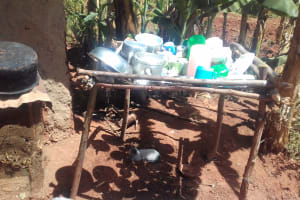 The Water Project: Isese Community, Sylvanus Spring -  Dish Rack