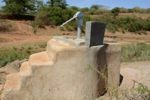 The Water Project: Mbuuni Community A -  Finished Well