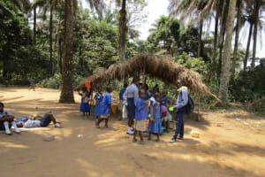 The Water Project: Gbaneh Bana SLMB Primary School -  School Canteen