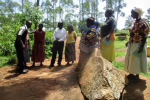 The Water Project: Mutambi Community, Kivumbi Spring -  Training