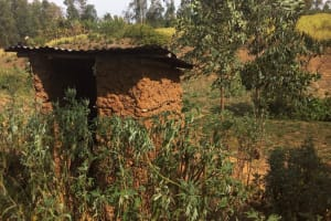 The Water Project: Elukho Community -  Latrine