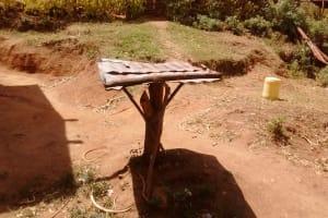 The Water Project: Futsi Fuvili Community, Shikanga Spring -  Dish Rack