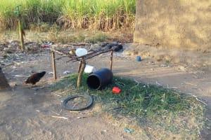 The Water Project: Mumuli Community, Shalolwa Spring -  Dish Rack