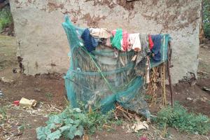 The Water Project: Mukhuyu Community, Shikhanga Spring -  Dish Rack