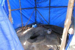 The Water Project: Kasongha Community, 16 Komrabai Road -  Latrine