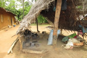 The Water Project: Baya Community -  Kitchen