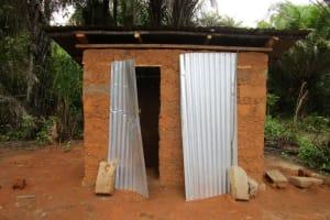 The Water Project: Ernest Bai Koroma Secondary School -  Latrine