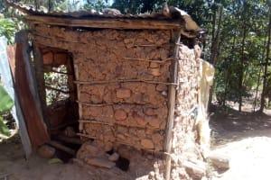 The Water Project: Handidi Community, Matunda Spring -  Latrine
