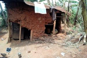 The Water Project: Mukhuyu Community, Shikhanga Spring -  Kitchen