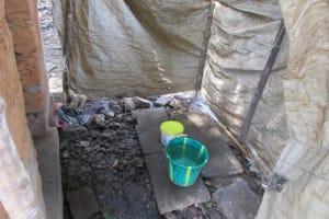 The Water Project: Kasongha Community, 16 Komrabai Road -  Bathing Shelter