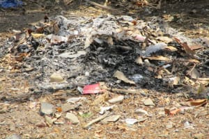The Water Project: Kasongha Community, 16 Komrabai Road -  Garbage Pile