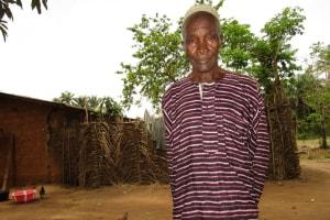 The Water Project: Baya Community -  Mr Momoh Sillah