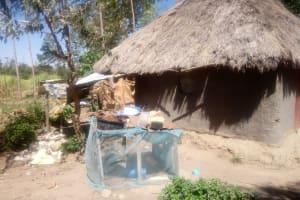 The Water Project: Lutonyi Community, Shihachi Spring -  Improvised Dish Rack