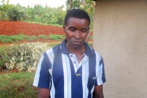 The Water Project: Wamuhila Community, Isabwa Spring -  Mr David Chagusha Isabwa