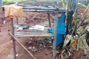 The Water Project: Simuli Community, Lihala Sifoto Spring -  Dish Rack