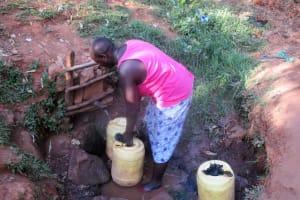 The Water Project: Wamuhila Community, Isabwa Spring -  Isabwa Spring