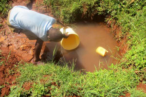 The Water Project:  Filling Bucket