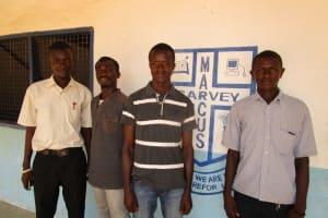The Water Project: Gbaneh Bana SLMB Primary School -  Secondary School Staff