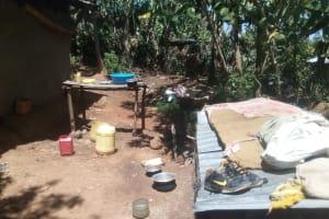 The Water Project: Elunyu Community, Saina Spring -  Dish Rack