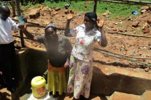 The Water Project: Mutambi Community, Kivumbi Spring -  Protected Spring