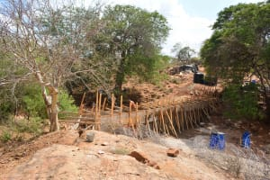 The Water Project: Maluvyu Community -  Construction