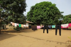 The Water Project: New London, 9 Jalloh Street -  Clothesline