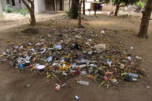 The Water Project: New London, 9 Jalloh Street -  Garbage Pile