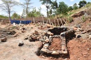 The Water Project: Mbindi Community B -  Construction