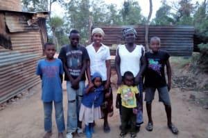 The Water Project: Mwiyala Community, Benard Spring -  Spring Users