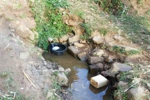 The Water Project: Mumuli Community, Shalolwa Spring -  Shalolwa Spring