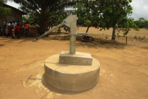 The Water Project: New London, 9 Jalloh Street -  Dry Well