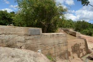 The Water Project: Katitu Community -  Finished Sand Dam