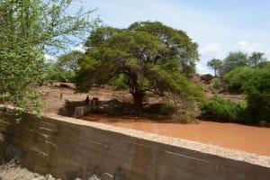 The Water Project: Maluvyu Community -  Finished Sand Dam