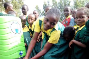 The Water Project: Mahanga Primary School -  Hand Washing