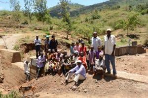 The Water Project: Mbindi Community B -  Finished Dam