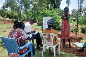 The Water Project: Shikhuyu Community -  Training