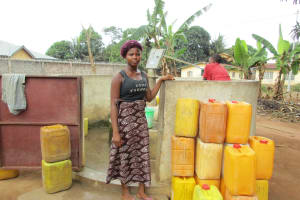 The Water Project: 3A Nahun Drive Well Rehabilitation -