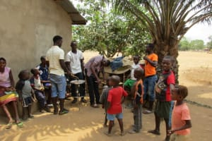 The Water Project: New London, 9 Jalloh Street -  Community Excitement About The Project