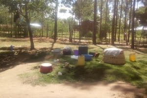 The Water Project: Lutali Community, Lukoye Spring -  Compound