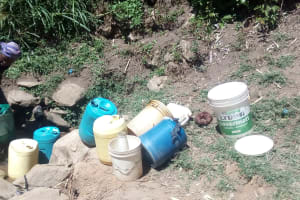 The Water Project: Handidi Community, Matunda Spring -  Activity Around Matunda Spring